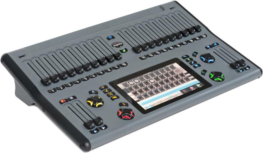 DMX 512-Output Lighting Console