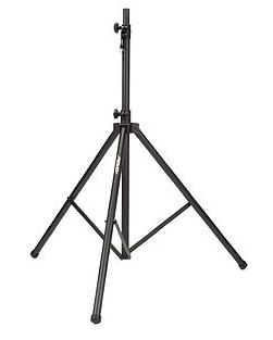Black Tripod Speaker Stand