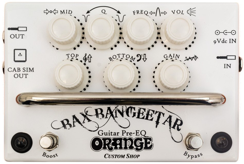 Orange Amplification Bax Bangeetar Guitar Preamp/EQ Pedal BAX-BANGEETAR