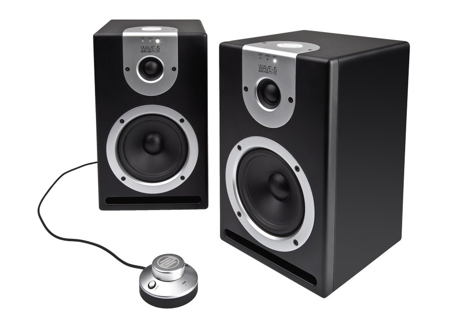 "Pair of 5"" Powered DJ Reference Monitors"