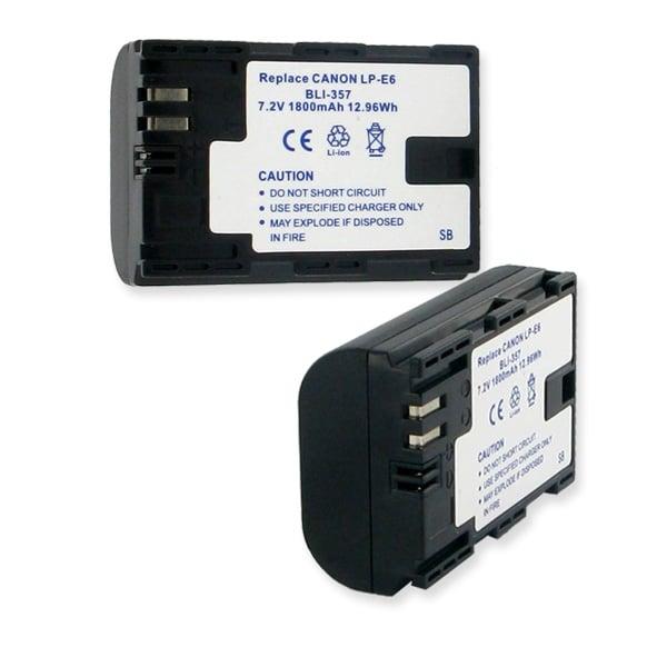 Canon LP-E6 7.2v 1800mAh Li-Ion Battery