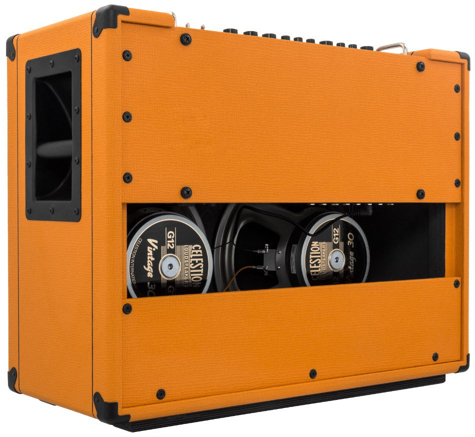 Rockerverb 50 Mkiii Combo 50w 2x12 Guitar Tube Amplifier By Power With El34 8211 35w Orange Rk50c 212 Full Compass Systems