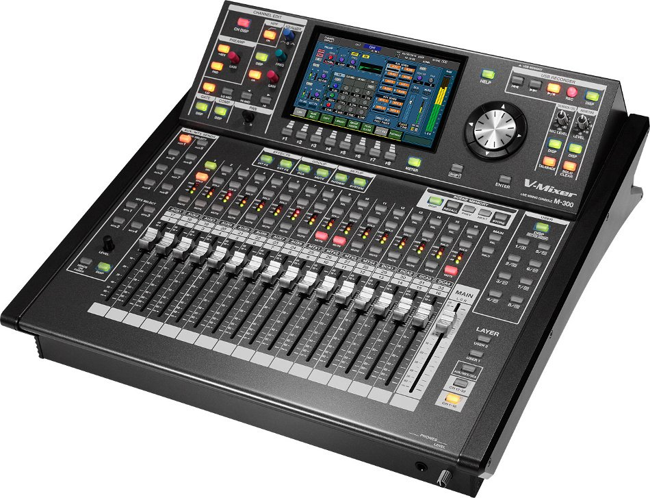 roland system group m300 std 44x26 digital mixing system full compass. Black Bedroom Furniture Sets. Home Design Ideas