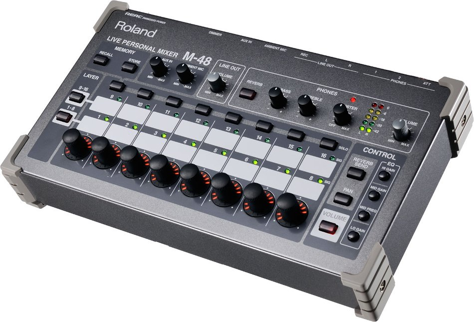 8-Person MADI-Based Networked Personal Monitor Mixing System