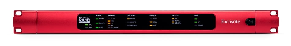 Focusrite Pro RedNet D64R 64-Channel MADI/Dante Bridge Interface REDNET-D64R