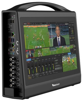 All-In-One Live HD Production Switcher with 5 SDI/HDMI Inputs