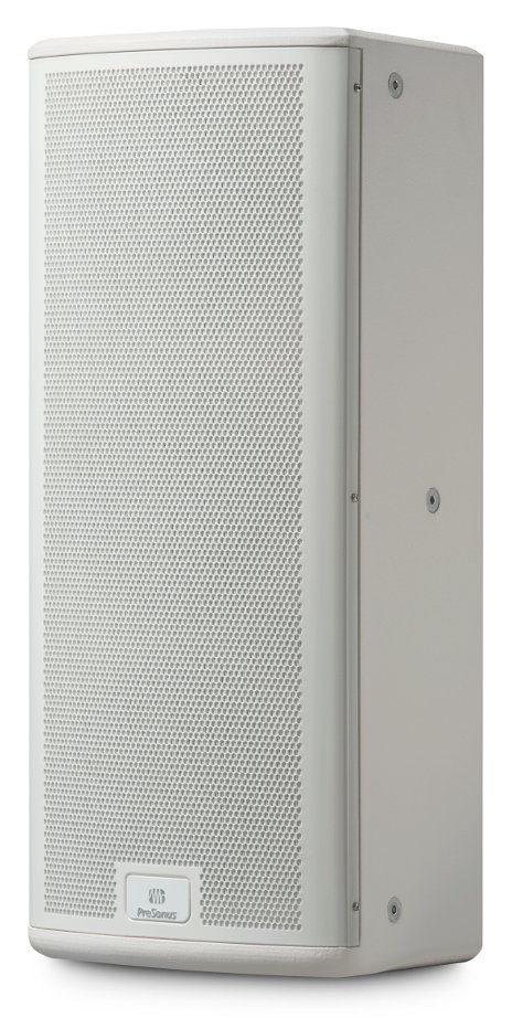 "StudioLive AI Series 2000W Active 3-Way Quad-Amped Installation Loudspeaker in White with Dual 8"" Woofers"