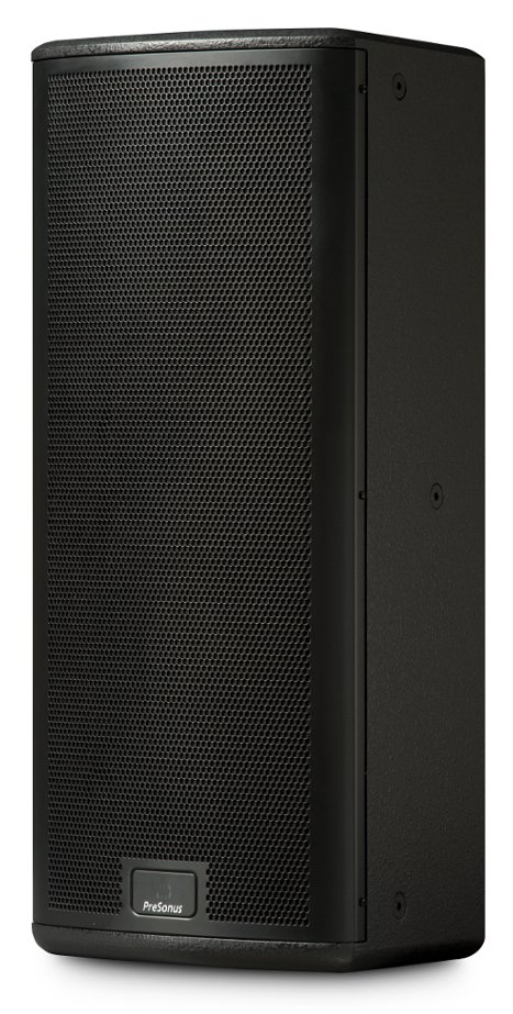 "StudioLive AI Series 2000W Active 3-Way Quad-Amped Installation Loudspeaker in Black with Dual 8"" Woofers"