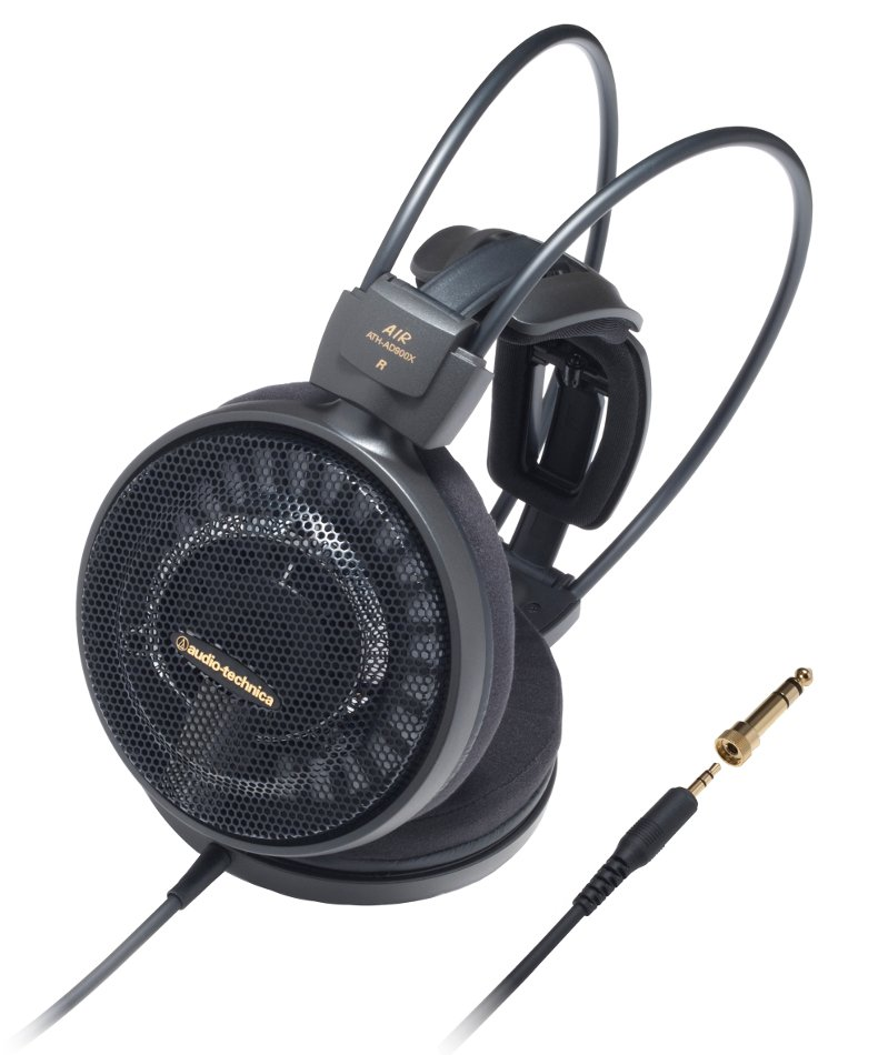 Open-Back Dynamic Audiophile Headphones with 53 mm Drivers