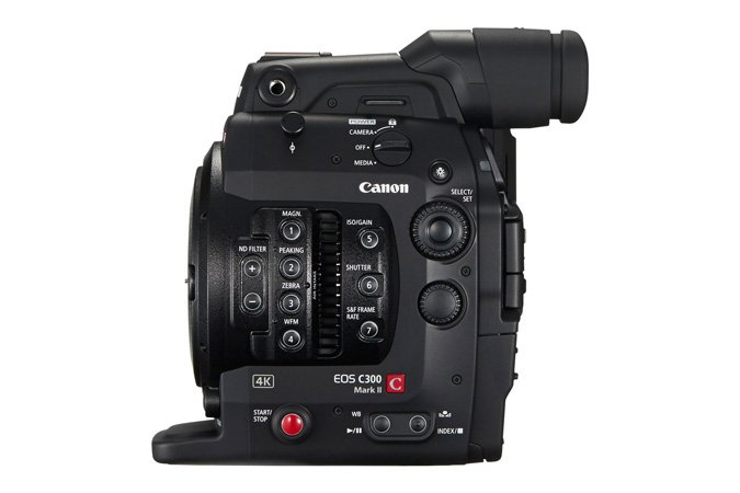 Canon EOS C300 Mark II Cinema EOS 4K Camera System with PL Mount EOS-C300-MKII-PL