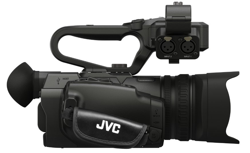 4KCAM Compact Handheld Camcorder with Integrated 12x Lens