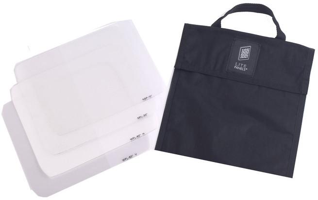 Litepanels 900-3506  Astra 1x1 Nanoptic Lens Set with Bag 900-3506