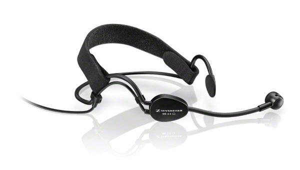 Headworn Cardioid Condenser Microphone for Sennheiser Wireless