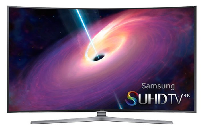 """48"""" 4K SUHD JS9000 Series Curved Smart TV"""