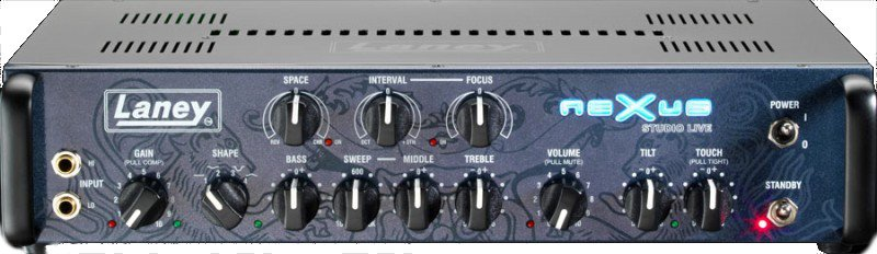 1000W Hybrid Tube Bass Amplifier Head with T-USB Interface and Footswitch
