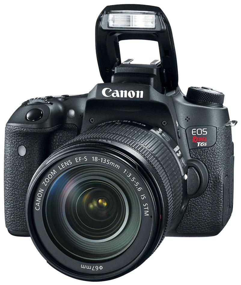 24.2 MP DSLR with EF-S 18-135mm Lens