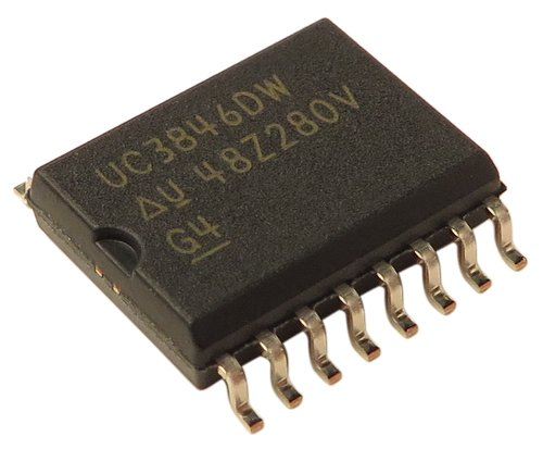 Crown 132265-1  IC UC3846 500KHZ 500MA for CTs 4200 132265-1