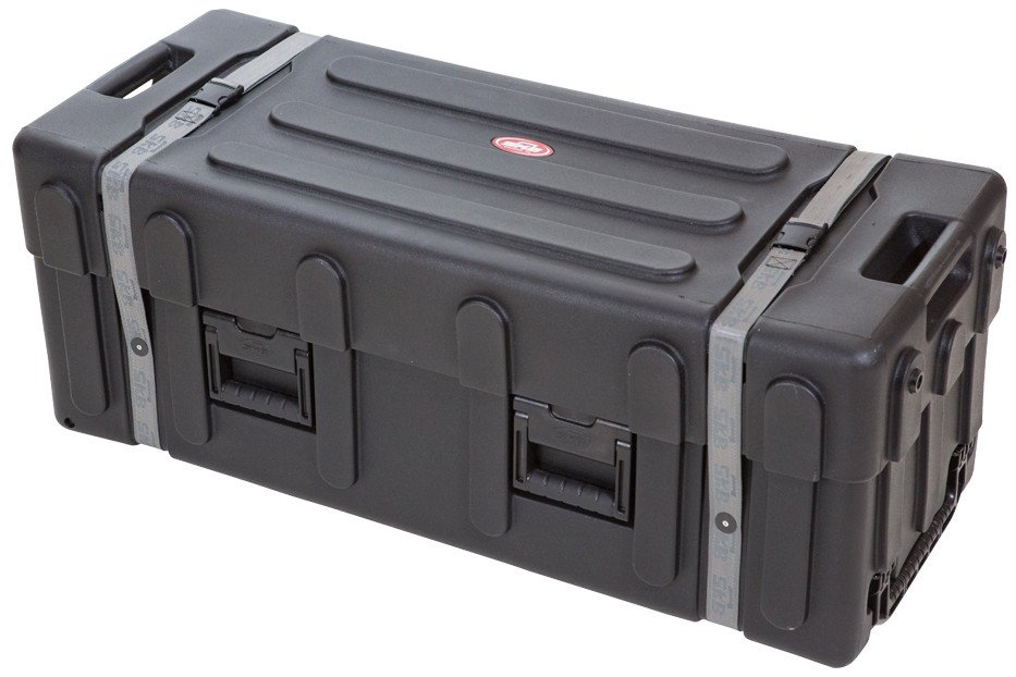 Large Drum Hardware Case with Wheels