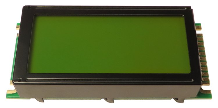 Wizard LCD Display for FireworX, G-Force, and M2000