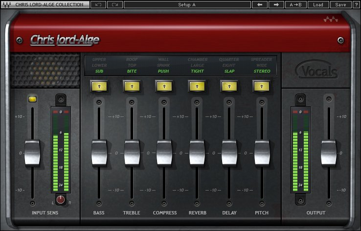 Chris Lord-Alge Multi-Effect Vocals Software Plugin