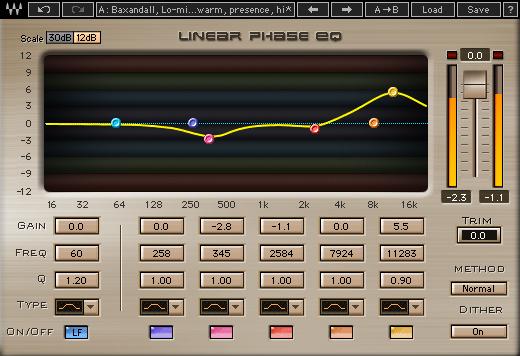 5-Band Parametric EQ Plugin