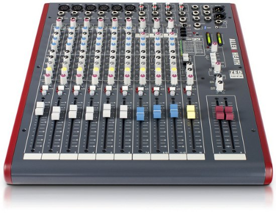12 Channel Mixing Console with Built-In FX, 6 Mic Preamps