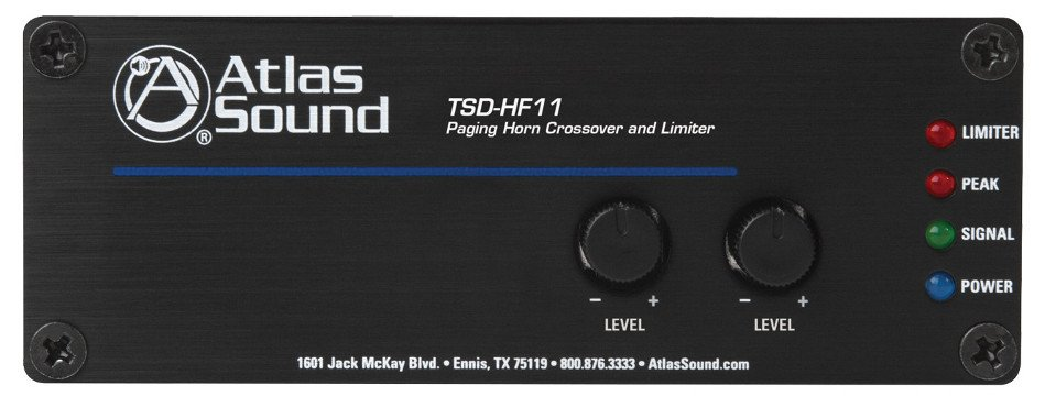 Atlas Sound TSD-HF11  Paging Horn Crossover and Limiter TSD-HF11