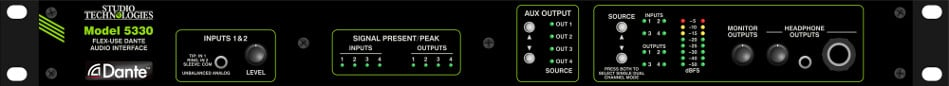 Multi-Purpose Analog Audio/Dante Interface