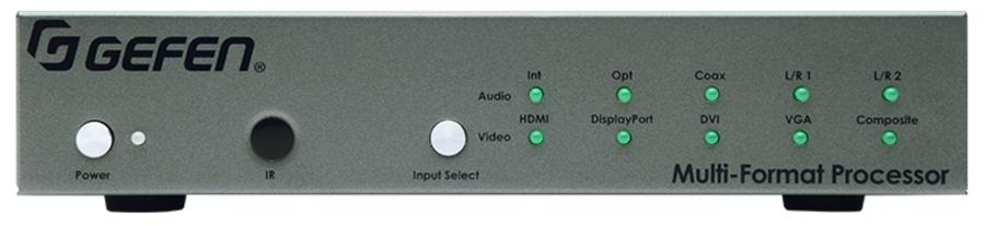 Audio/Video Multi-Format Processor