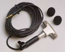 "Condenser Microphone with 1/8"" Mini Stereo Plug"