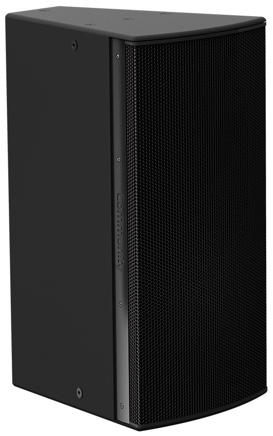 "I Series 12"" 2-Way 600W (8 Ohms) Passive/Bi-Amp Installation Loudspeaker in Black with 90°x90° Dispersion"