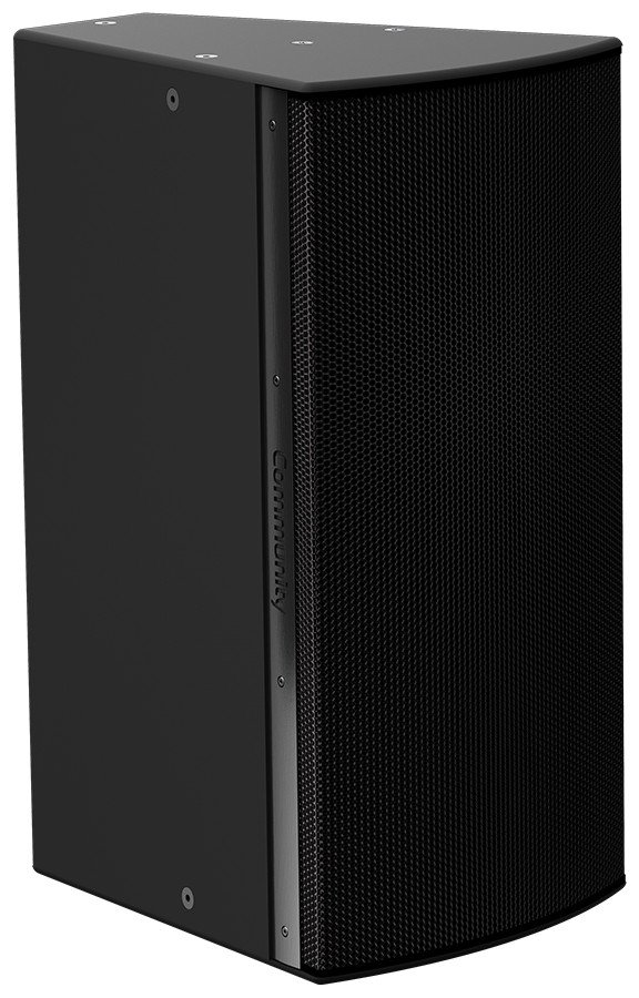 "I Series 15"" 2-Way 600W (8 Ohms) Passive/Bi-Amp Installation Loudspeaker in Black with 120°x60° Dispersion"
