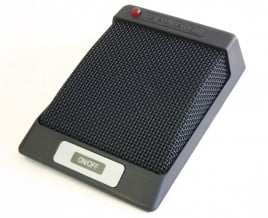 Acoustic Boundary Mic with Remote Control Switch
