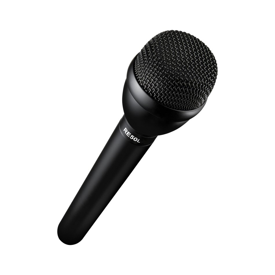 Handheld Interview Microphone with Long Handle