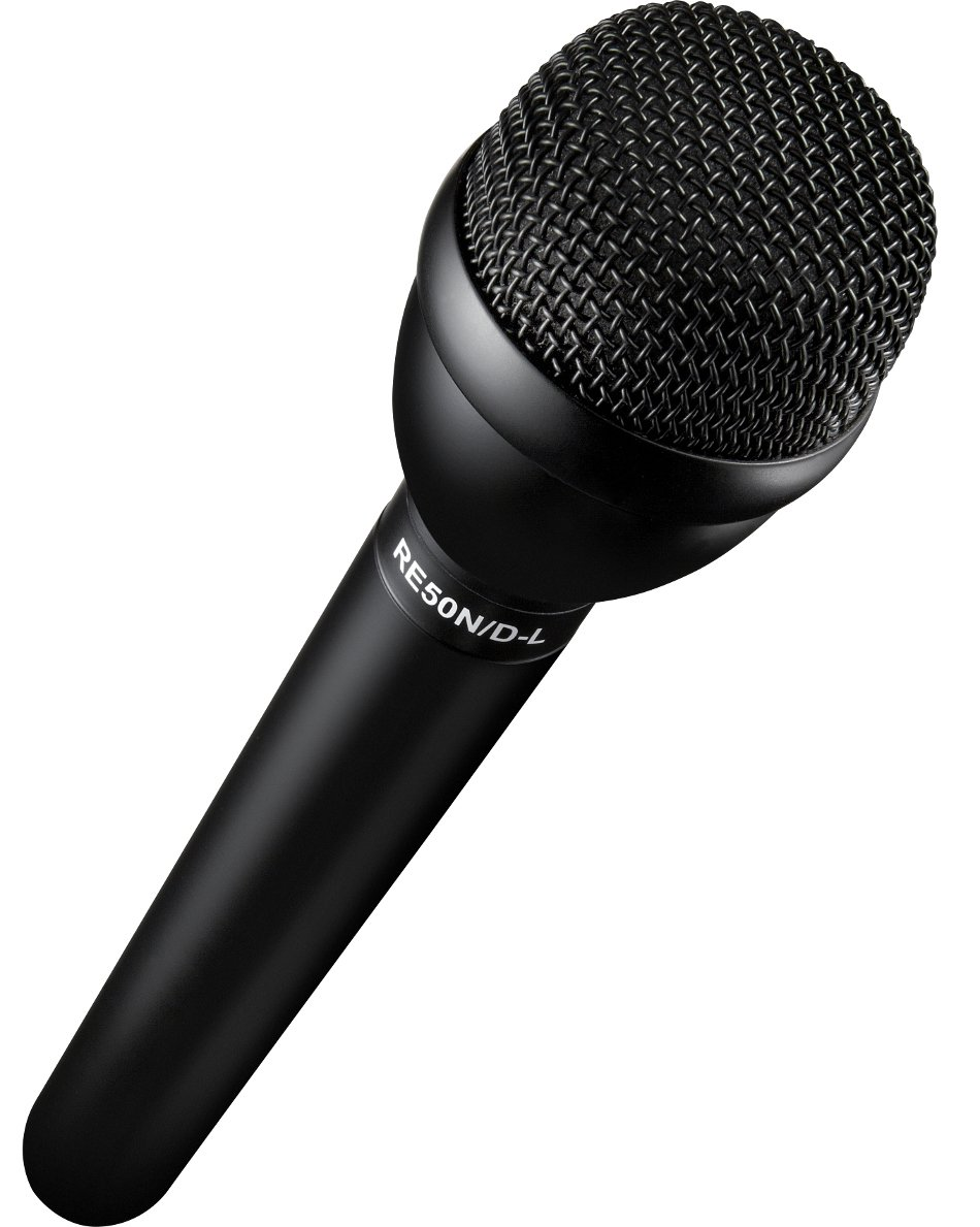 Electro-Voice RE50N/D-L Handheld Interview Microphone with Long Handle RE50N/D-L