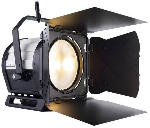 "LED Fresnel Fixture with 12"" Lens"
