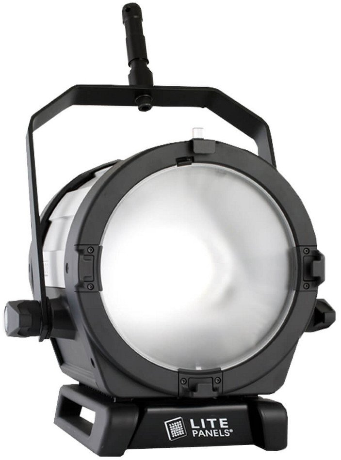 "LED Fresnel Fixture with 9"" Lens"