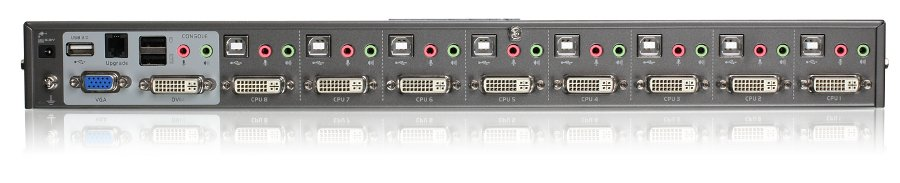 8-Port Dual Link DVI KVMP Switch Kit