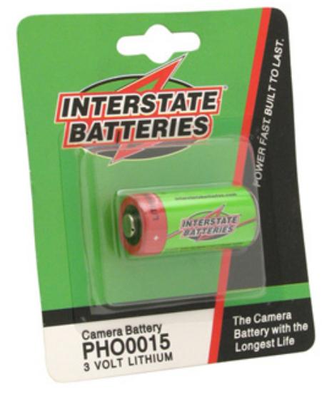 Interstate Battery PHO0015  3V Lithium Camera Battery PHO0015