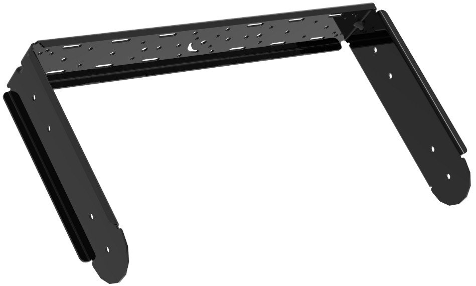 Community IUB1153B U-Bracket for IP8-1153 Model Loudspeakers in Black IUB1153B