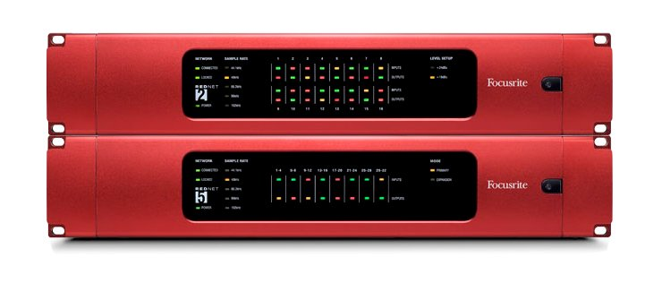 Dante Network Digital Audio Package with RedNet 2 and RedNet 5 Interfaces