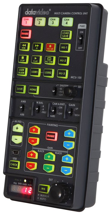 Hand-Held Multi Camera Control Unit for Panasonic Cameras