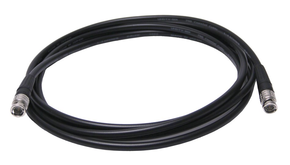 100 ft Ultra-Flexible HD-SDI Cable with L-4.5CHWS Cable and BCP-B45HW Connectors