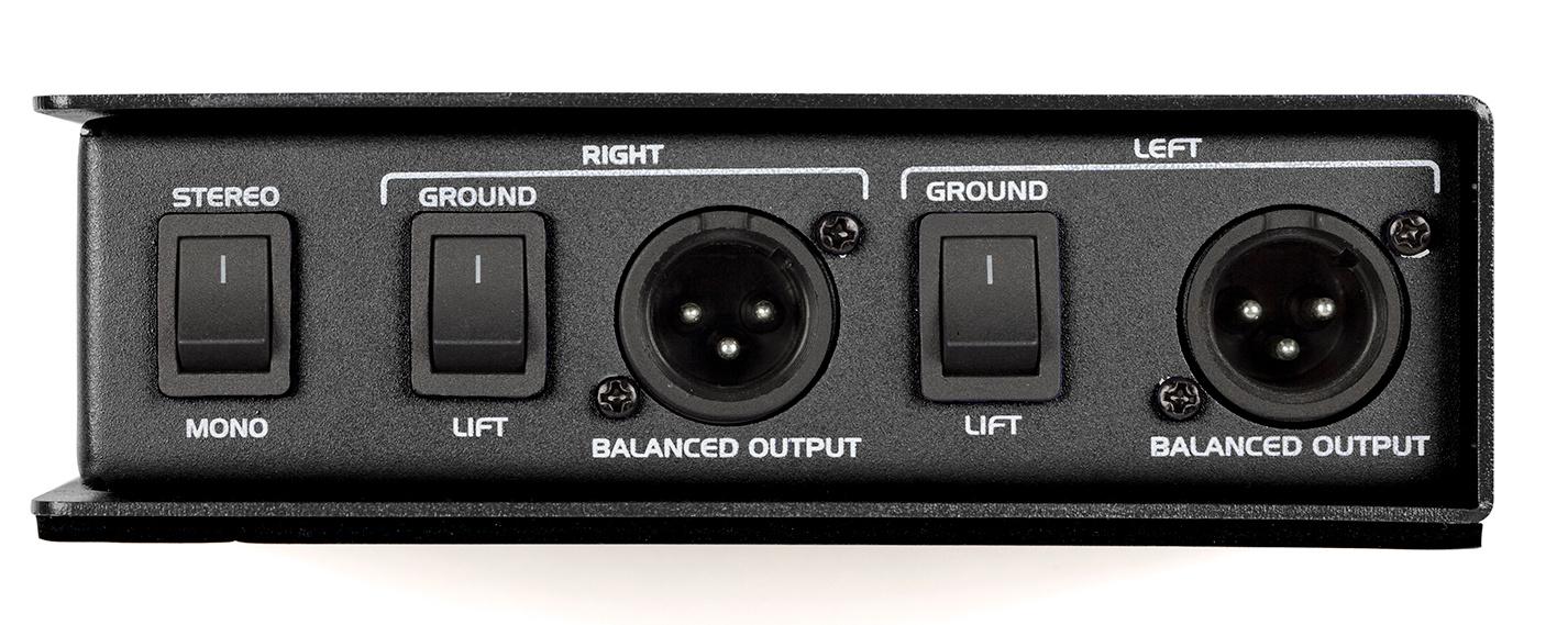 Stereo Passive Direct Box
