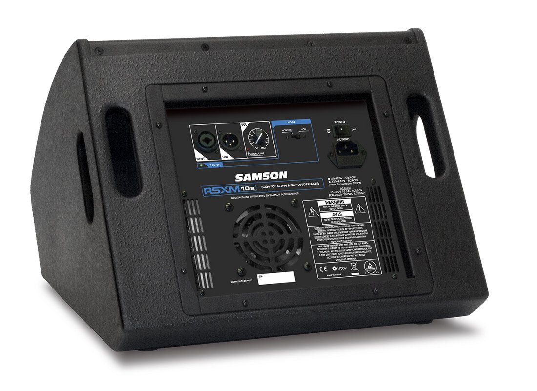 "800W 2-Way Active Stage Monitor with 10"" Driver"