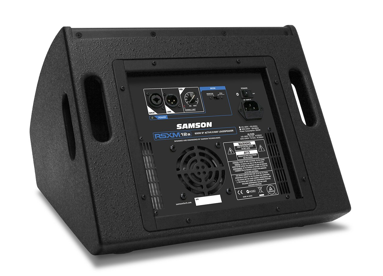 "800W 2-Way Active Stage Monitor with 12"" Driver"