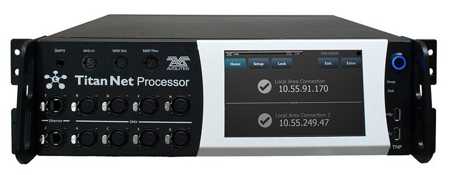 16 Universe Lighting Control Processor