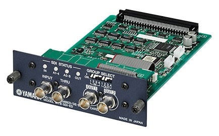 HD-SDI Serial Digital Interface Card for Yamaha Digital Mixers