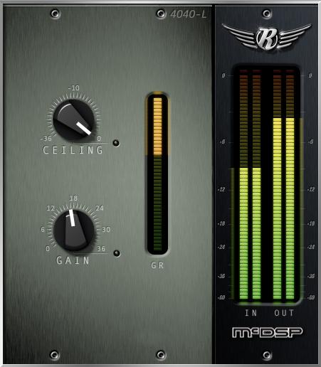 Retro Limiter Plugin, HD AAX DSP/Native/AU/VST Version