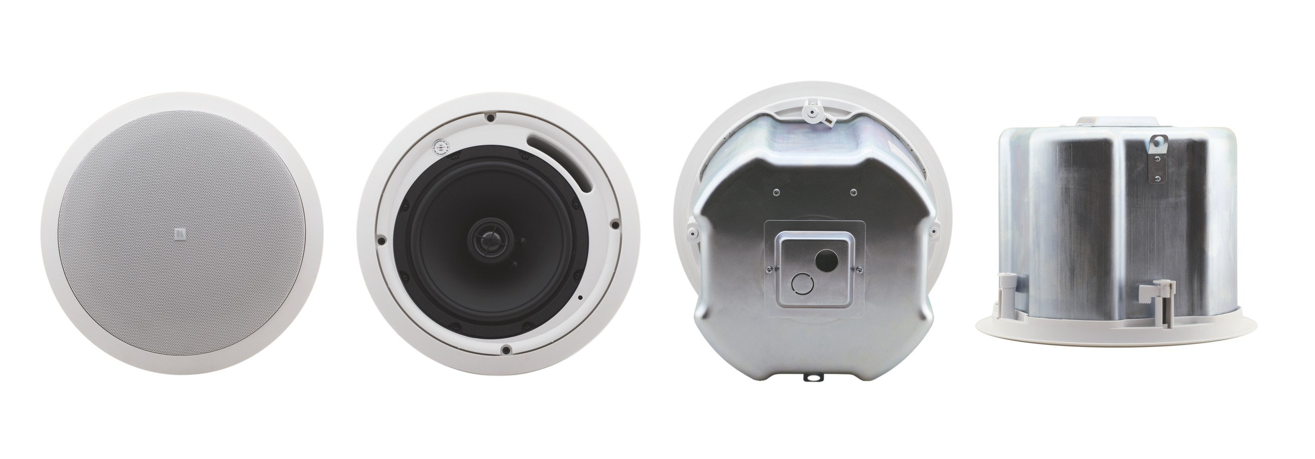 "8"", 2-Way Closed-Back Ceiling Speakers (Pair, White)"